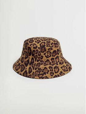 Mango Mango Kapelusz Minaj Bucket Hat 87040070 Brązowy