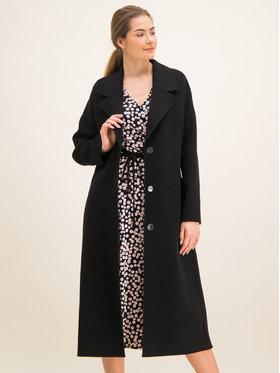 Laurèl Laurèl Вълнено палто 91002 Черен Regular Fit