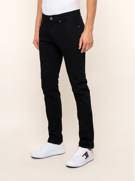 Tommy Jeans Tommy Jeans Blugi Slim Fit DM0DM04372 Negru Slim Fit