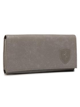 Puma Puma Große Damen Geldbörse Sf Ls Wallet F 053380 03 Grau