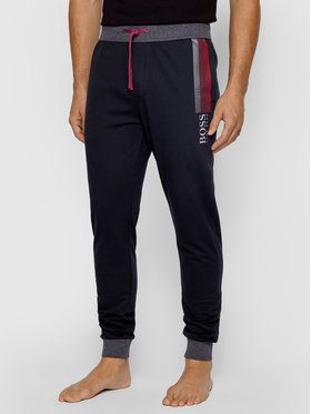 Boss Boss Teplákové kalhoty Authentic 50442739 Černá Regular Fit