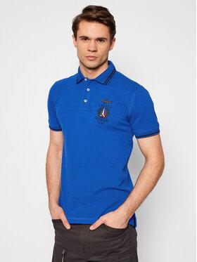 Aeronautica Militare Aeronautica Militare Polo marškinėliai 211PO1532P191 Mėlyna Regular Fit