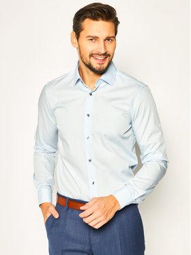 Strellson Strellson Košeľa Santos-Cc 30020267 Modrá Slim Fit