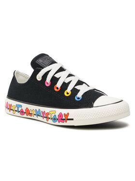 Converse Converse Sneakers aus Stoff Ctas Ox 170295C Schwarz