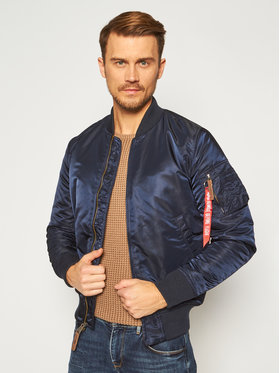 Alpha Industries Alpha Industries Яке бомбър Ma-1 Vf 59 168100 Тъмносин Slim Fit