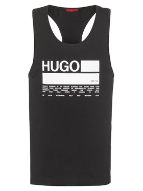 Hugo Hugo Tank top Binalong 50437787 Negru Relaxed Fit
