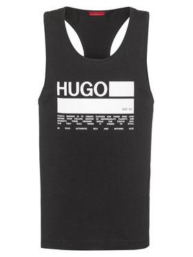 Hugo Hugo Trikó Binalong 50437787 Fekete Relaxed Fit