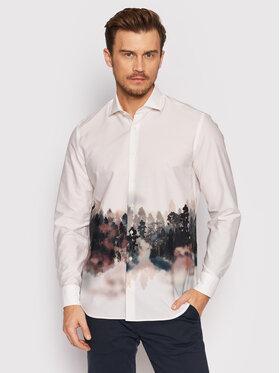 Baldessarini Baldessarini Marškiniai Keith B3 10001/000/3042 Balta Regular Fit