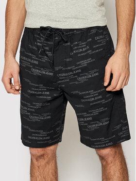 Calvin Klein Jeans Calvin Klein Jeans Szorty sportowe J30J317382 Czarny Regular Fit