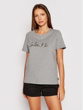 Calvin Klein Calvin Klein T-shirt Signature K20K202870 Gris Regular Fit