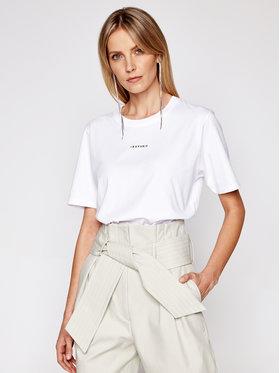 IRO IRO T-shirt Perry A0283 Blanc Regular Fit