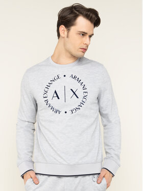 Armani Exchange Armani Exchange Sweatshirt 8NZM87 Z9N1Z 3929 Grau Regular Fit