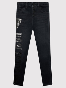 Guess Guess Jeans J1BA01 D4H30 Schwarz Skinny Fit