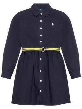 Polo Ralph Lauren Polo Ralph Lauren Ежедневна рокля 313835211003 Тъмносин Regular Fit
