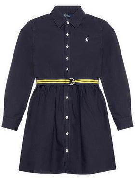 Polo Ralph Lauren Polo Ralph Lauren Každodenné šaty 313835211003 Tmavomodrá Regular Fit