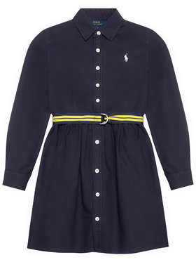 Polo Ralph Lauren Polo Ralph Lauren Sukienka codzienna 313835211003 Granatowy Regular Fit