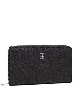 Tommy Hilfiger Tommy Hilfiger Veľká dámska peňaženka Th Element All In I Wallet AW0AW10547 Tmavomodrá