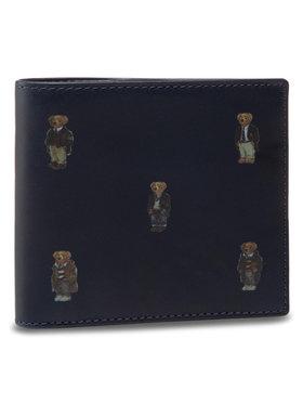 Polo Ralph Lauren Emporio Armani Große Herren Geldbörse Bear Bf 405826008001 Dunkelblau