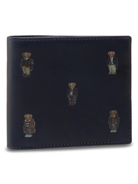 Polo Ralph Lauren Emporio Armani Velká pánská peněženka Bear Bf 405826008001 Tmavomodrá