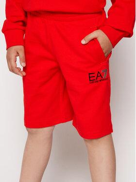 EA7 Emporio Armani EA7 Emporio Armani Sportske kratke hlače 3KBS51 BJ05Z 1485 Crvena Regular Fit