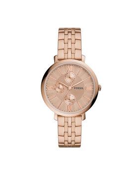 Fossil Fossil Ρολόι Jacqueline ES5119 Χρυσό