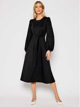 Weekend Max Mara Weekend Max Mara Rochie de zi Giralda 56210217 Negru Regular Fit
