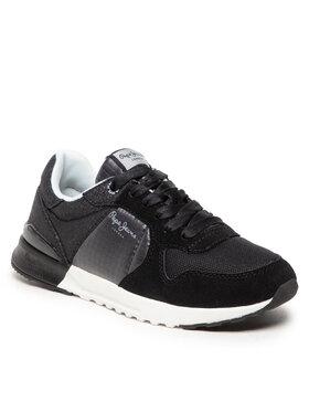 Pepe Jeans Pepe Jeans Sneakersy Verona Pro Fun PLS31280 Černá