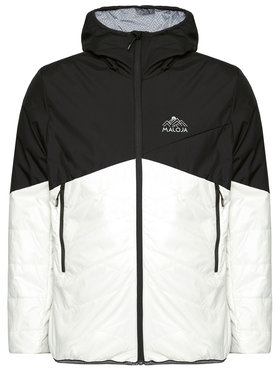 Maloja Maloja Преходно яке WangdiM. 30214-1-0821 Черен Regular Fit