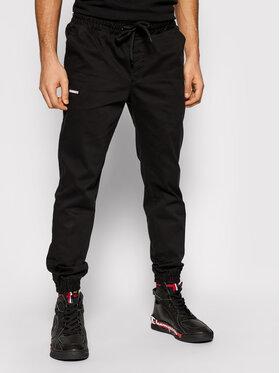 Diamante Wear Diamante Wear Joggers kalhoty Unisex Classic 5419 Černá Regular Fit