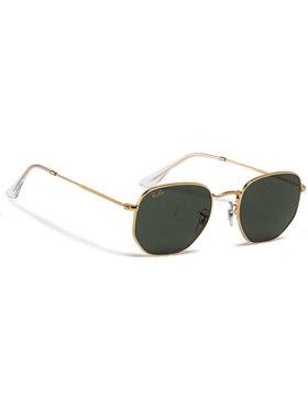 Ray-Ban Ray-Ban Слънчеви очила Hexagonal Flat Lenses 0RB3548 919631 Зелен