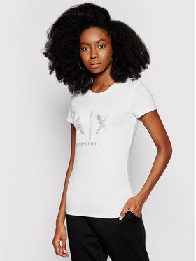 Armani Exchange Armani Exchange Póló 3KYTRA YJC7Z 1000 Fehér Slim Fit