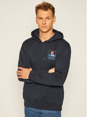Edwin Edwin Sweatshirt Sunset On Mt Fuji I025851 TG0971P NYB67 Bleu marine Regular Fit