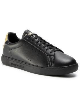 Emporio Armani Emporio Armani Sneakers X4X316 XM500 N024 Negru