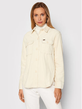 Lee Lee Chemise L54IQU79 Beige Relaxed Fit