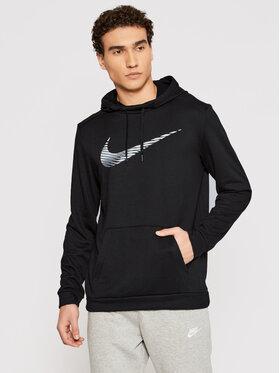 Nike Nike Bluza techniczna Dri-FIT CJ4268 Czarny Standard Fit
