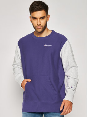 Champion Champion Sweatshirt Premium Crewneck 214284 Violett Regular Fit