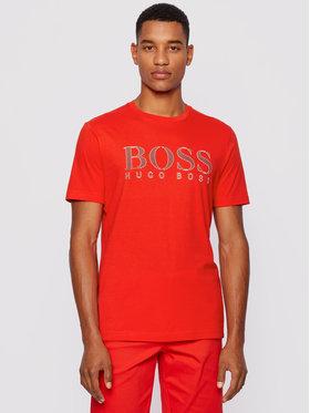 Boss Boss Marškinėliai 5 50448306 Raudona Regular Fit