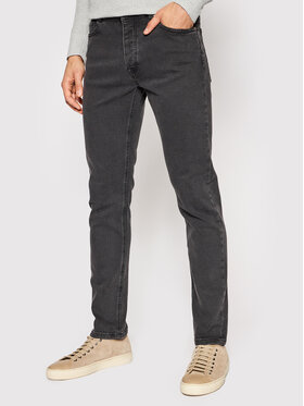 United Colors Of Benetton United Colors Of Benetton Jeansy 4DHH57BC8 Czarny Slim Fit