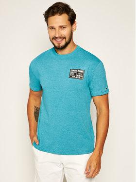 Tommy Jeans Tommy Jeans T-Shirt Tjm Black Label Tee DM0DM07853 Zelená Regular Fit