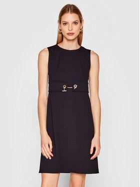 Rinascimento Rinascimento Sukienka koktajlowa CFC0102458003 Czarny Regular Fit