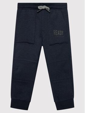 Coccodrillo Coccodrillo Teplákové kalhoty ZC1120113EVB Tmavomodrá Regular Fit