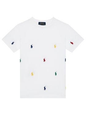 Polo Ralph Lauren Polo Ralph Lauren Тишърт Spectre 323844626002 Бял Regular Fit