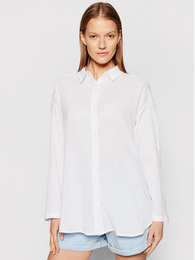 Seafolly Seafolly Camicia Classic 54027-TO Bianco Regular Fit
