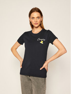 Converse Converse T-shirt Romance Classic 10020554-A02 Nero Regular Fit