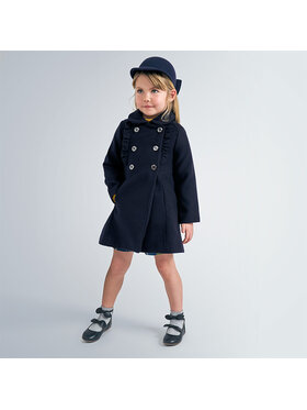 Mayoral Mayoral Cappotto 4409 Blu scuro Regular Fit