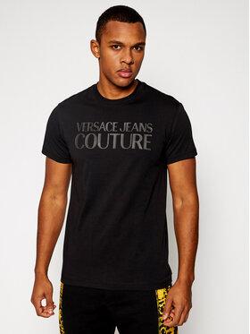 Versace Jeans Couture Versace Jeans Couture Tričko B3GWA7TA Čierna Slim Fit