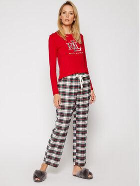Lauren Ralph Lauren Lauren Ralph Lauren Piżama 2 Pc Garment ILN72020 Kolorowy Regular Fit