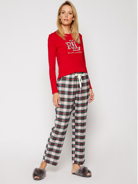 Lauren Ralph Lauren Lauren Ralph Lauren Pyjama 2 Pc Garment ILN72020 Bunt Regular Fit