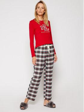 Lauren Ralph Lauren Lauren Ralph Lauren Pyžamo 2 Pc Garment ILN72020 Barevná Regular Fit
