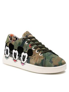 Desigual Desigual Laisvalaikio batai 21WSKA16 Žalia